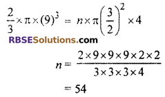 RBSE Solutions for Class 10 Maths Chapter 16 Surface Area and Volume Ex 16.4 13