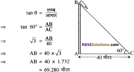 RBSE Solutions for Class 10 Maths Chapter 19 सड़क सुरक्षा शिक्षा 22