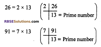 RBSE Solutions for Class 10 Maths Chapter 2 Real NumbersAdditional Questions LAQ 3