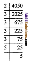 RBSE Solutions for Class 10 Maths Chapter 2 Real NumbersAdditional Questions MCQ 1