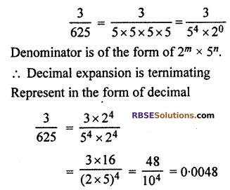 RBSE Solutions for Class 10 Maths Chapter 2 Real NumbersAdditional Questions SAQ 4