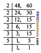 RBSE Solutions for Class 10 Maths Chapter 2 Real NumbersAdditional Questions SAQ 5