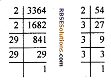 RBSE Solutions for Class 10 Maths Chapter 2 Real NumbersAdditional Questions SAQ 8
