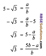 RBSE Solutions for Class 10 Maths Chapter 2 Real NumbersEx 2.3 Q1