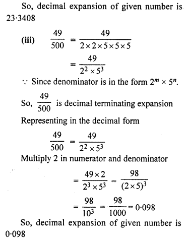 RBSE Solutions for Class 10 Maths Chapter 2 Real Numbers Ex 2.4 Q2.2