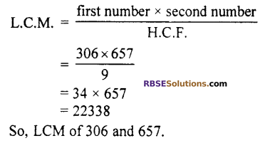 RBSE Solutions for Class 10 Maths Chapter 2 Real NumbersMiscellaneous Exercise Q17