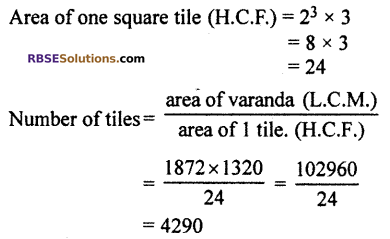 RBSE Solutions for Class 10 Maths Chapter 2 Real NumbersMiscellaneous Exercise Q18.1