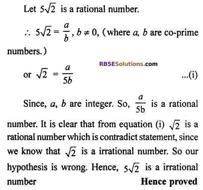 RBSE Solutions for Class 10 Maths Chapter 2 Real NumbersMiscellaneous Exercise Q19