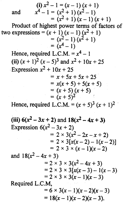 RBSE Solutions for Class 10 Maths Chapter 3 Polynomials Additional Questions 16