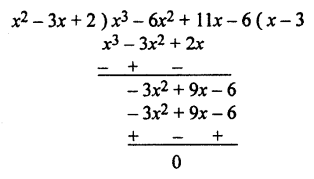 RBSE Solutions for Class 10 Maths Chapter 3 PolynomialsAdditional Questions 5