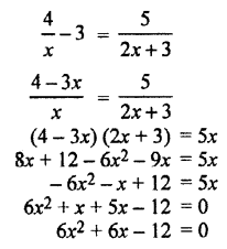 RBSE Solutions for Class 10 Maths Chapter 3 PolynomialsAdditional Questions 9