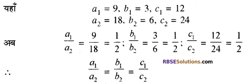 RBSE Solutions for Class 10 Maths Chapter 4 दो चरों वाले रैखिक समीकरण एवं असमिकाएँ Additional Questions 14