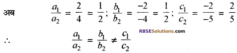 RBSE Solutions for Class 10 Maths Chapter 4 दो चरों वाले रैखिक समीकरण एवं असमिकाएँ Additional Questions 27
