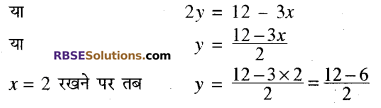 RBSE Solutions for Class 10 Maths Chapter 4 दो चरों वाले रैखिक समीकरण एवं असमिकाएँ Additional Questions 41