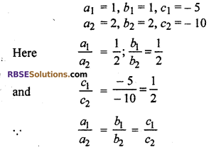 RBSE Solutions for Class 10 Maths Chapter 4 Linear Equation and Inequalities in Two Variables Ex 4.1 12