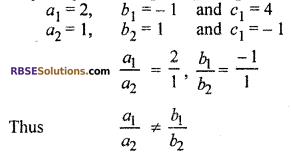 RBSE Solutions for Class 10 Maths Chapter 4 Linear Equation and Inequalities in Two Variables Ex 4.1 8
