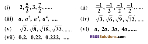 RBSE Solutions for Class 10 Maths Chapter 5 समान्तर श्रेढ़ी Ex 5.1 4