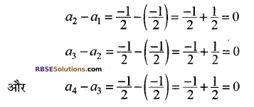 RBSE Solutions for Class 10 Maths Chapter 5 समान्तर श्रेढ़ी Ex 5.1 8