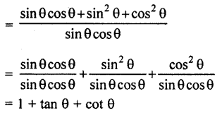 RBSE Solutions for Class 10 Maths Chapter 7 Trigonometric Identities Ex 7.1 18