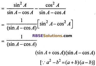 RBSE Solutions for Class 10 Maths Chapter 7 Trigonometric Identities Ex 7.1 35