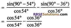 RBSE Solutions for Class 10 Maths Chapter 7 Trigonometric Identities Ex 7.2 4
