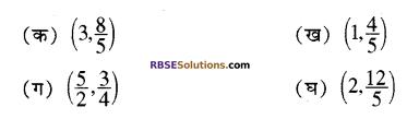 RBSE Solutions for Class 10 Maths Chapter 9 निर्देशांक ज्यामिति Additional Questions 1