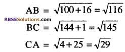 RBSE Solutions for Class 10 Maths Chapter 9 निर्देशांक ज्यामिति Additional Questions 18