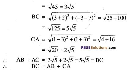 RBSE Solutions for Class 10 Maths Chapter 9 निर्देशांक ज्यामिति Ex 9.1 15