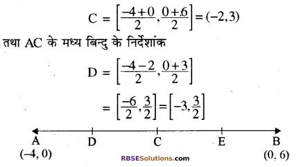 RBSE Solutions for Class 10 Maths Chapter 9 निर्देशांक ज्यामिति Ex 9.2 12