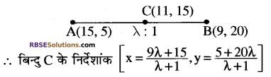 RBSE Solutions for Class 10 Maths Chapter 9 निर्देशांक ज्यामिति Ex 9.2 7