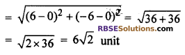 RBSE Solutions for Class 10 Maths Chapter 9 Co-ordinate Geometry Additional Questions 23