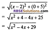 RBSE Solutions for Class 10 Maths Chapter 9 Co-ordinate Geometry Additional Questions 29