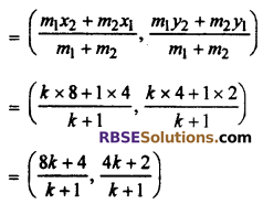RBSE Solutions for Class 10 Maths Chapter 9 Co-ordinate Geometry Additional Questions 3
