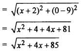RBSE Solutions for Class 10 Maths Chapter 9 Co-ordinate Geometry Additional Questions 30