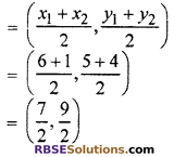 RBSE Solutions for Class 10 Maths Chapter 9 Co-ordinate Geometry Additional Questions 32