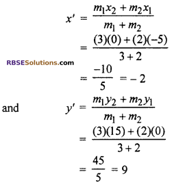 RBSE Solutions for Class 10 Maths Chapter 9 Co-ordinate Geometry Additional Questions 36