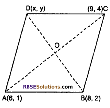 RBSE Solutions for Class 10 Maths Chapter 9 Co-ordinate Geometry Additional Questions 37