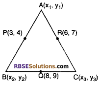 RBSE Solutions for Class 10 Maths Chapter 9 Co-ordinate Geometry Additional Questions 42