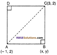 RBSE Solutions for Class 10 Maths Chapter 9 Co-ordinate Geometry Additional Questions 55
