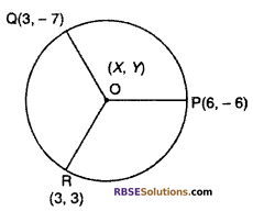 RBSE Solutions for Class 10 Maths Chapter 9 Co-ordinate Geometry Additional Questions 56