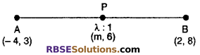 RBSE Solutions for Class 10 Maths Chapter 9 Co-ordinate Geometry Additional Questions 59