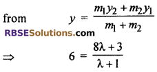 RBSE Solutions for Class 10 Maths Chapter 9 Co-ordinate Geometry Additional Questions 60