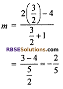 RBSE Solutions for Class 10 Maths Chapter 9 Co-ordinate Geometry Additional Questions 61