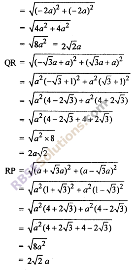RBSE Solutions for Class 10 Maths Chapter 9 Co-ordinate Geometry Ex 9.1 16