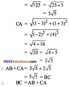 RBSE Solutions for Class 10 Maths Chapter 9 Co-ordinate Geometry Ex 9.1 18