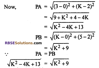 RBSE Solutions for Class 10 Maths Chapter 9 Co-ordinate Geometry Ex 9.1 21