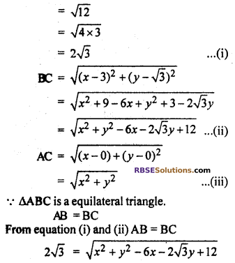 RBSE Solutions for Class 10 Maths Chapter 9 Co-ordinate Geometry Ex 9.1 24