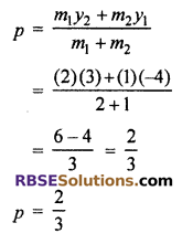 RBSE Solutions for Class 10 Maths Chapter 9 Co-ordinate Geometry Ex 9.2 21