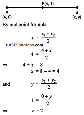 RBSE Solutions for Class 10 Maths Chapter 9 Co-ordinate Geometry Miscellaneous Exercise 14