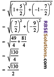 RBSE Solutions for Class 10 Maths Chapter 9 Co-ordinate Geometry Miscellaneous Exercise 24